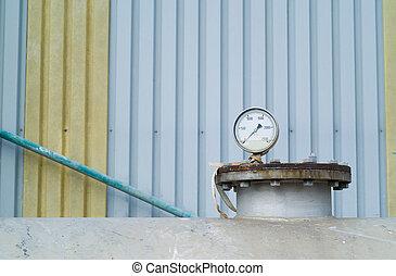 Petro chemical or industry industrial pressure gauge