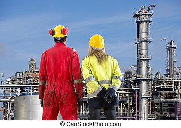 Petrochemical, Engenheiros