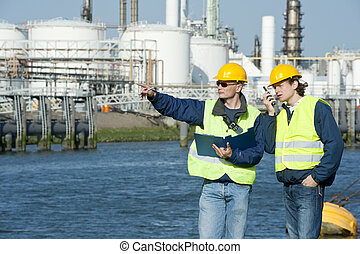 Petrochemical Engineers - Two petrochemical engineers...