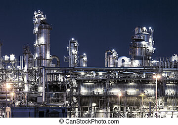 petrochemical plant  - petrochemical industrial plant