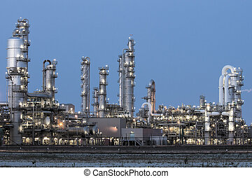 petrochemical, planta industrial