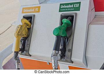 Petrol Fuel Pump Unleaded
