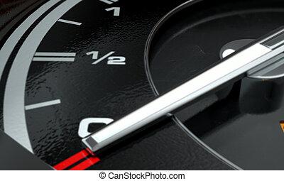 Petrol Gage Empty