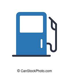 petrol  glyph color icon