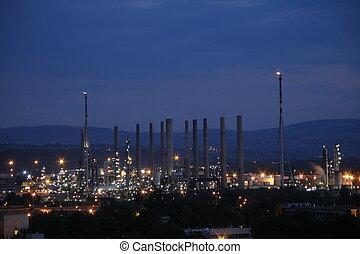 raffinery - petrol raffinery
