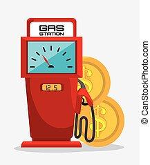 petroleum industry design, vector illustration eps10 graphic