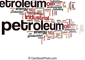 Petroleum word cloud