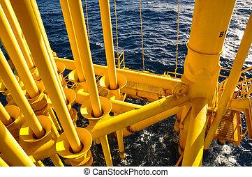 petrolio benzina, produrre, slot