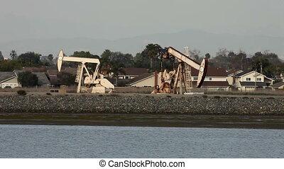 petrolio facendo, in, california
