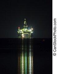 petrolio facendo, piattaforma