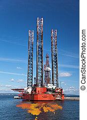 petrolio, fuoriuscita