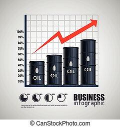 petrolio, industria, disegno