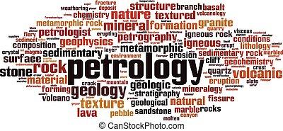 petrology, palavra, nuvem