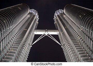 Petronas towers detail