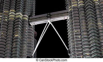 petronas twin tower, kuala lumpur