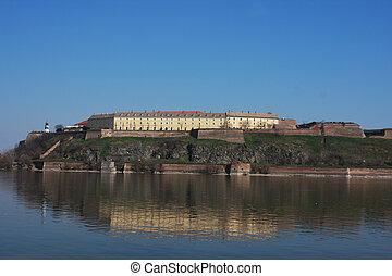 Petrovaradin fortress in Novi Sad - Serbia - architecture...