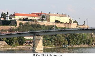 Petrovaradin fortress Novi Sad Serbia