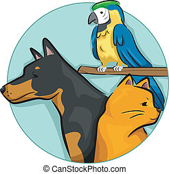 Pets Design Elements