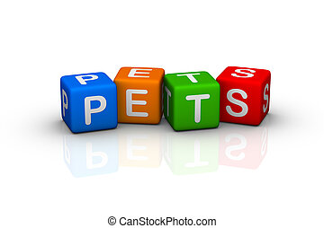pets  (buzzword cubes series)