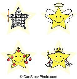 peu, étoiles