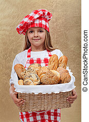 peu, boulanger, girl