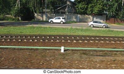 peu, défaillance, passe, temps, station, chemin fer