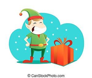 peu, elfe