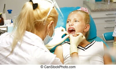 peu, orthodontiste, girl
