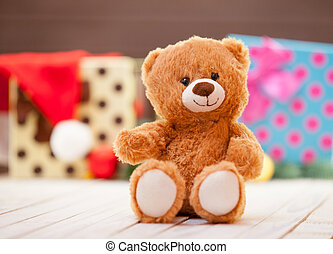peu, ours peluche