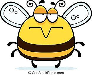 peu, percé, abeille