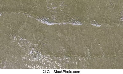 peu profond, mer, paysage