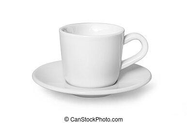 peu, tasse, café