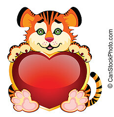 peu, tigre, beau