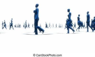 peuples, marche