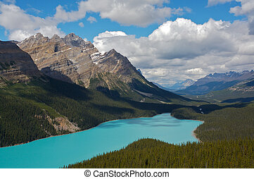 peyto see, banff nationalpark