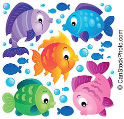 pez,  2, tema, Colección