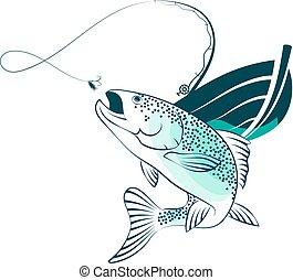 pez, barco de pesca