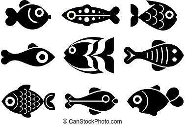 pez, Conjunto, icono