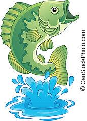 pez, de agua dulce, tema, imagen, 6