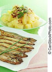 pez, frito