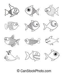 pez, ilustración