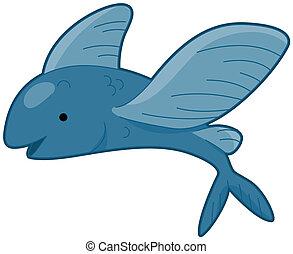 pez, vuelo