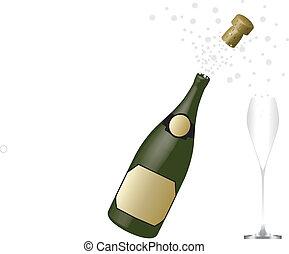 pezsgő palack