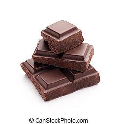 pezzi, cioccolato