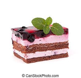 pezzo torta, delizioso