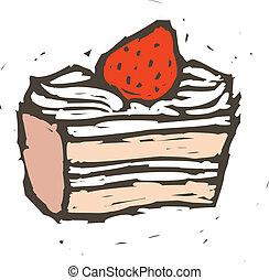 pezzo torta
