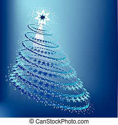 pf, kaart, kerstmis