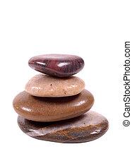 pfad, ausschnitt, -, steinen