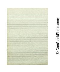 pfad, papier, ausschnitt, altes , hintergrund, freigestellt, weißes