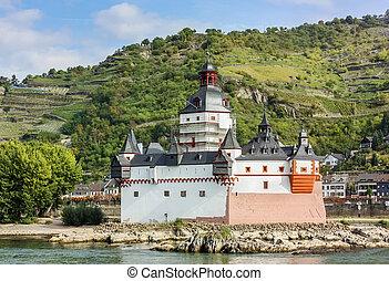 Pfalzgrafenstein Castle, Germany - Pfalzgrafenstein Castle...